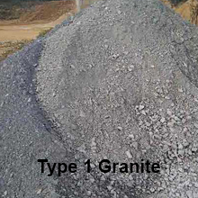 Type 1 Granite | Aggregates  | Bardo Midlands